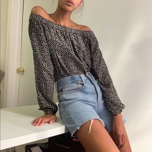 Stars off Shoulder Top